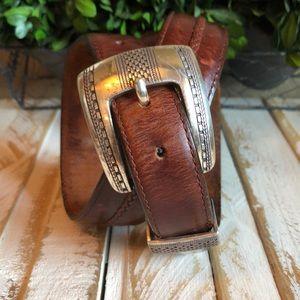 Onyx by Brighton Leather Belt